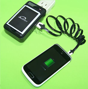 New High Power 5040mAh Battery External AC Charger for ...