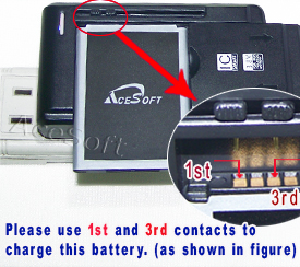Deal MetroPCS LG Optimus L70 D325 MS323 oem replacement rechargeable standard Spare Battery Charger