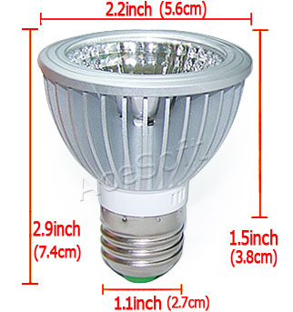 Buy E26 E27 Dimmable Pure White LED dining-room lamp