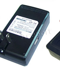 universal battery charger instructions blue light
