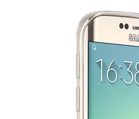 Found Samsung Galaxy S6 edge SM-G925V Verizon Transparent Slim Soft TPU Case BEST
