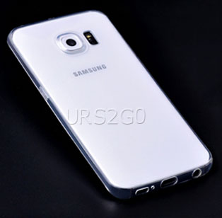 buy Samsung Galaxy S6 edge SM-G925V Verizon Transparent Slim Soft TPU Case