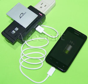 NEW Acesoft 2010 mAh Battery DOCK Charger Stylus for ZTE ...